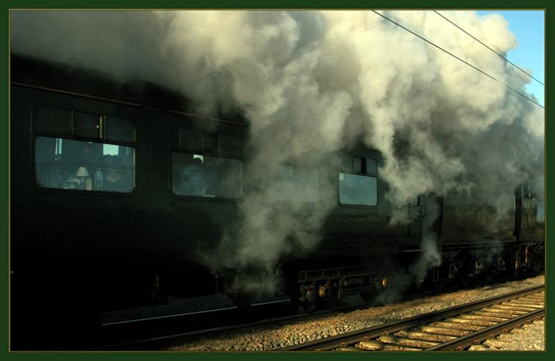 Tren ve Yolculuk Fotoğraf Kanvas Tablo