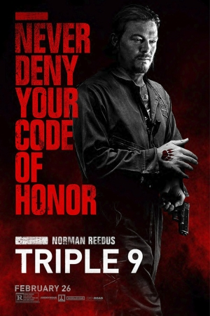 Triple-9 Film Afişi Norman Reedus Sinema Kanvas Tablo
