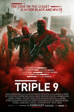 Triple-9 Film Afişi Sinema Kanvas Tablo