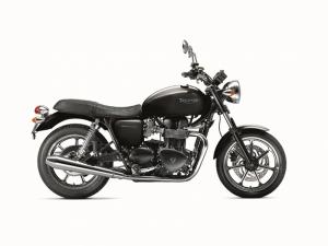 Triumph Motorsiklet T2 Siyah Kanvas Tablo