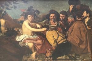 Triumph of Bacchus-1628, Diego De Velazquez Klasik Sanat Kanvas Tablo