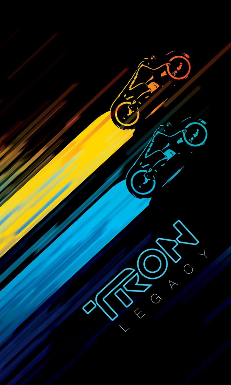 Tron Legacy Poster Kanvas Tablo