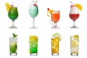 Tropik Meyve Kokteyili 5 Lezzetler Kanvas Tablo
