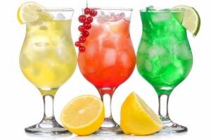 Tropik Meyve Kokteyili 6 Lezzetler Kanvas Tablo