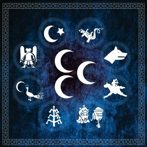 Turan Devletleri, Türk Devletleri-11 Türk Temalı Kanvas Tablo Arttablo