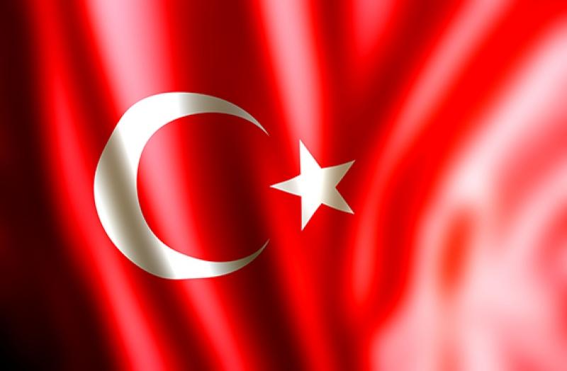 Türk Bayrağı Ay Yıldız Kırmızı Kanvas Tablo