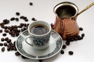 Türk Kahvesi Lezzetler Kanvas Tablo