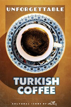 Türk Kahvesi Şehirler Kanvas Tablo