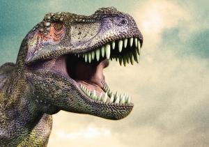 Tyrannosaurus T-rex Dinazor 2 Hayvanlar Kanvas Tablo