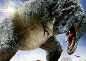 Tyrannosaurus T-rex Dinazor Hayvanlar Kanvas Tablo