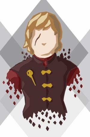 Tyrion İllustrasyon Game Of Thrones Popüler Kültür Kanvas Tablo