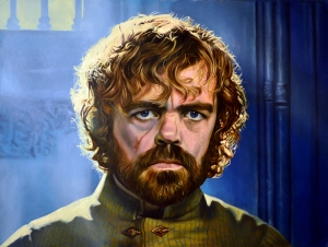 Tyrion Lannister Game Of Thrones Popüler Kültür Kanvas Tablo