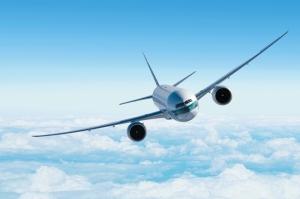 Uçak Boing Hava Yolculuğu Kanvas Tablo
