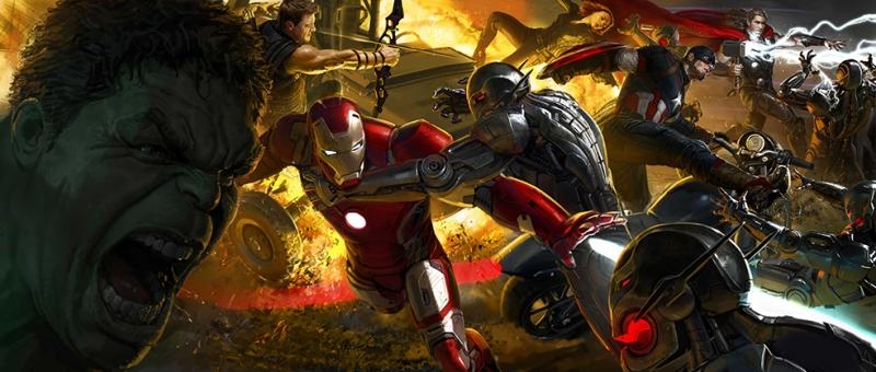 Ultron Marvel Avangers Sinema Kanvas Tablo