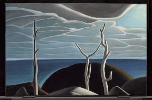 Üst Göl, Lawren Harrance Klasik Sanat Kanvas Tablo