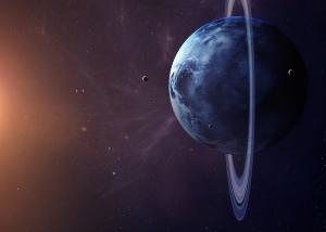 Uzay Boşluğu Dünya & Uzay Kanvas Tablo