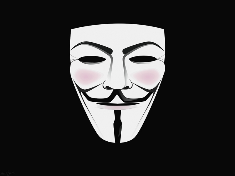V For Vendetta Popüler Kültür Kanvas Tablo