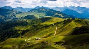Vadi Yeşil Topraklar Kanvas Tablo