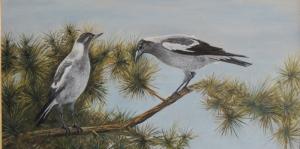 Vahşi Kuşlar-7 Hayvanlar, Kuş Temalı Kanvas Tablo