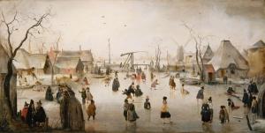 Van De Gouden Günlük Yaşam Yağlı Boya Reprodüksiyon Klasik Sanat Kanvas Tablo