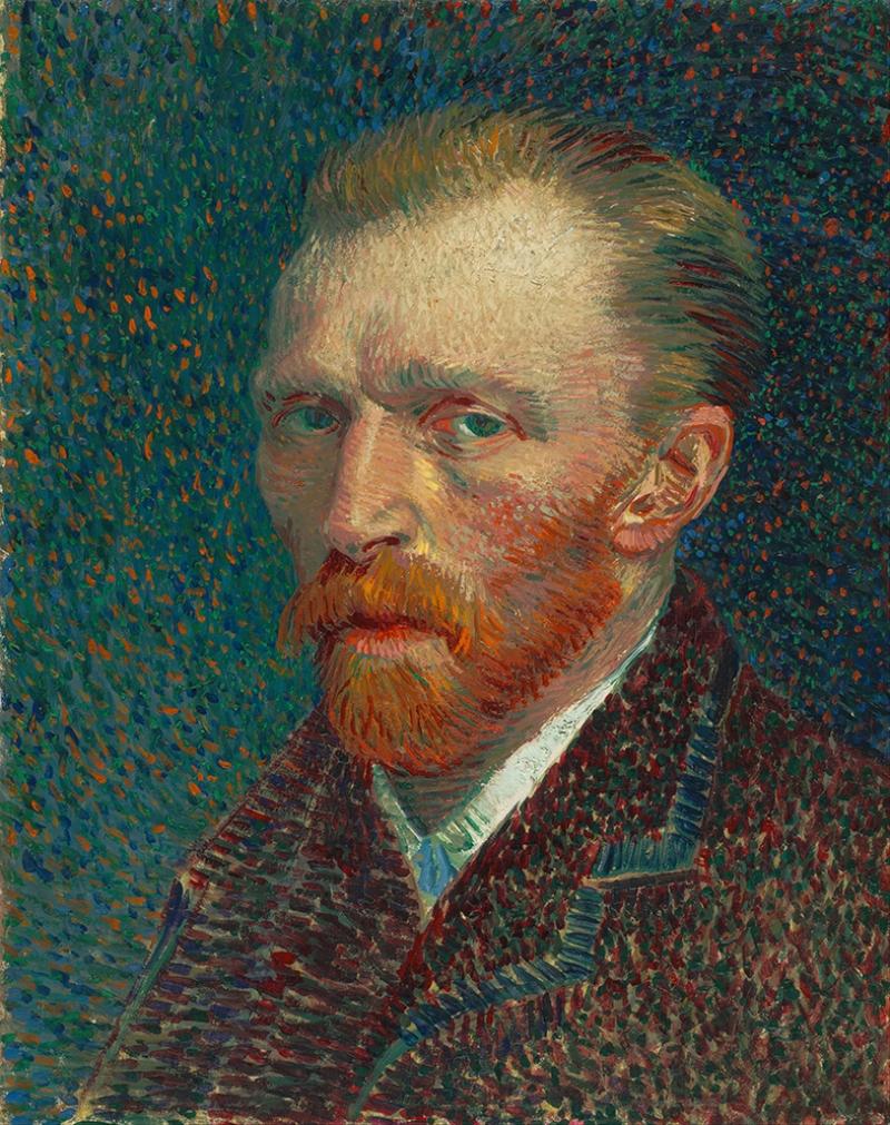 Van Gogh Portre Yağlı Boya Sanat Kanvas Tablo