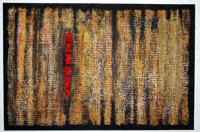 Varoluş Abstract Soyut Yağlı Boya Sanat Kanvas Tablo