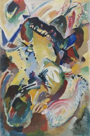 Vasily Kandinsky Edwin Icin Panel 1 Yagli Boya Klasik Sanat Kanvas Tablo