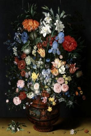 Vazo İçinde Çiçekler 11 İç Mekan Dekoratif Modern Kanvas Tablo