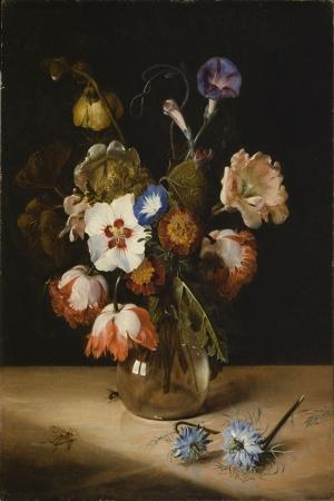 Vazo İçinde Çiçekler 42 İç Mekan Dekoratif Modern Kanvas Tablo