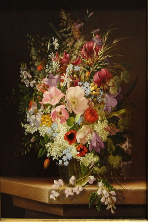 Vazo İçinde Çiçekler 9 İç Mekan Dekoratif Modern Kanvas Tablo