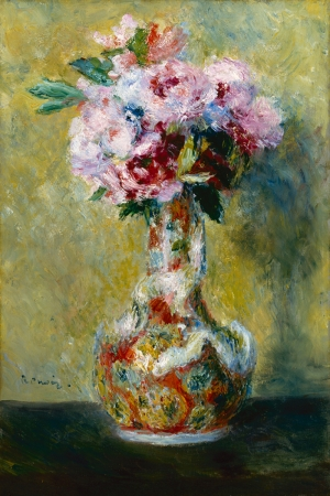 Vazodaki Çiçek, Pierre August Renoir, Bouque in a Vase Klasik Sanat Kanvas Tablo