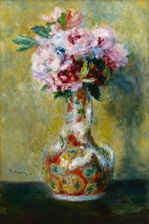 Vazodaki Çiçek, Pierre August Renoir, Bouque in a Vase Klasik Sanat Kanvas Tablo
