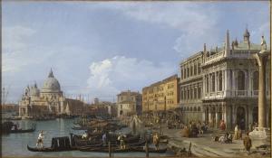 Venedik Canaletto Regatta 3 Yağlı Boya Sanat Kanvas Tablo