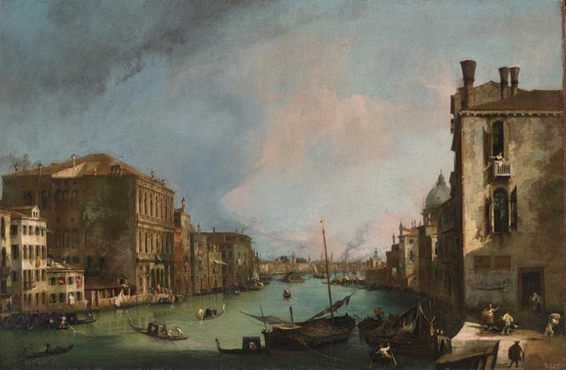 Venedik Canaletto Regatta 4 Yağlı Boya Sanat Kanvas Tablo