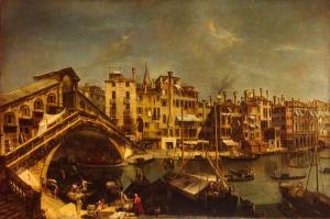 Venedik, Michele Marieschi Klasik Sanat Eserleri Kanvas Tablo