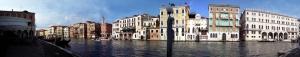 Venedik Panaromik Kanvas Tablo