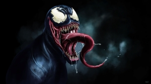 Venom Süper Kahramanlar Kanvas Tablo