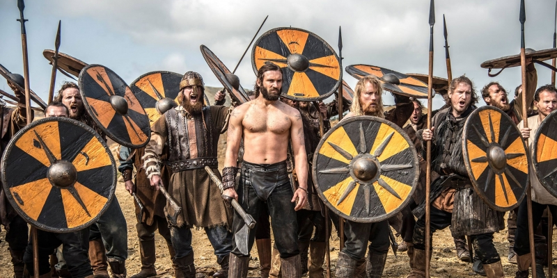 Vikings Filmi Clive Standen Sinema Kanvas Tablo