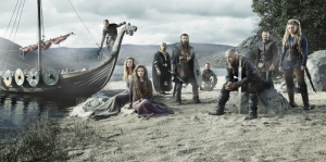 Vikings Karakterleri Kanvas Tablo