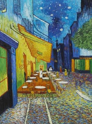 Vincent Van Gogh Yildizli Geceler Yağlı Boya Reprodüksiyon Klasik Sanat Kanvas Tablo