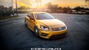 Volkswagen CC Spor Otomobiller Kanvas Tablo