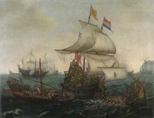 Vroom Hendrick Cornelisz Yağlı Boya Sanat Kanvas Tablo