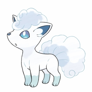 Vulpix Pokemon Sol Luna Pokemon Karekterleri Pokemon Kanvas Tablo