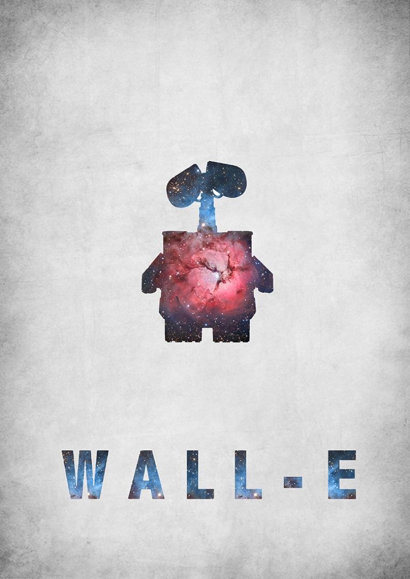 Wall-E Afiş Kanvas Tablo