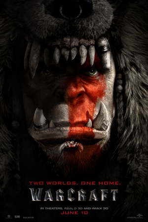 Warcraft Film Afişi Sinema Kanvas Tablo