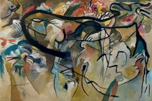 Wassily Kandinsky, Composition 5, 1911, Reprodüksiyon Klasik Sanat Kanvas Tablo