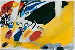 Wassily Kandinsky, Impression III, Reprodüksiyon Klasik Sanat Kanvas Tablo