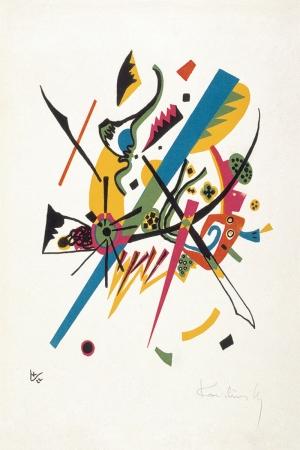 Wassily Kandinsky Plate 1 Reprodüksiyon Klasik Sanat Kanvas Tablo