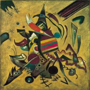 Wassily Kandinsky  Reprodüksiyon Klasik Sanat Kanvas Tablo