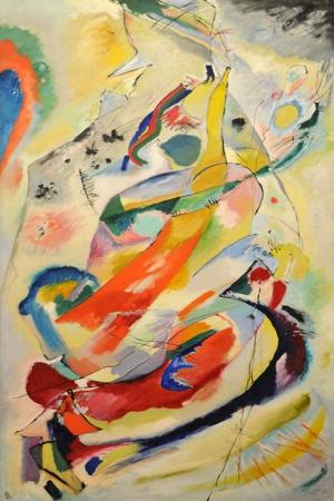 Wassily Kandinsky Several Circles Reprodüksiyon Klasik Sanat Kanvas Tablo